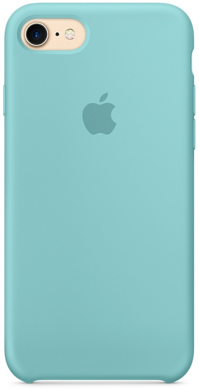 Накладка Apple iPhone 7/8 Silicon Case Sale (Бирюзовый)